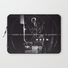 There Is Nothing So Stable As Change Laptop Sleeve