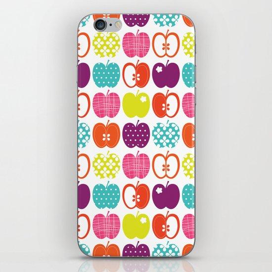 Textured Apples iPhone & iPod Skin