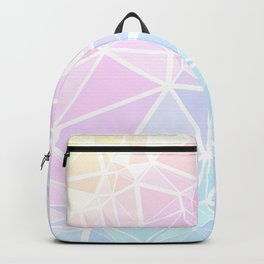 Pastel Triangles 1 Backpack