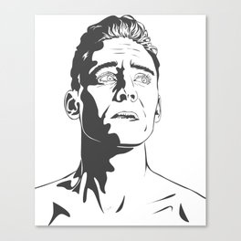 Tom Hiddleston as Coriolanus Canvas Print