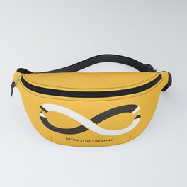Never stop creating (the infinity pencil) Fanny Pack