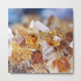 Citrine Light Metal Print