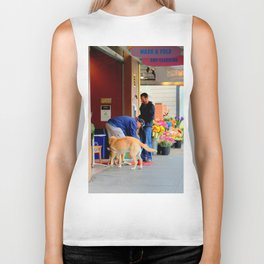 The Morning Constitutional Times Two By Four Biker Tank