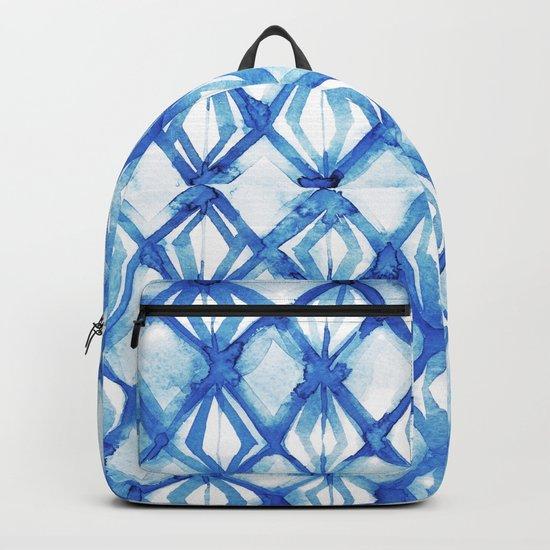 Nautical mermaid scales Backpack
