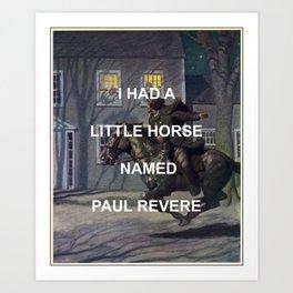 Paul Revere Art Print