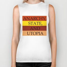 Anarchy, State and Utopia Biker Tank