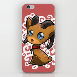 Zodiac Cats - Aries iPhone Skin