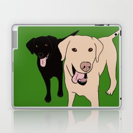 Tanner and Lily Best Labrador Buddies Laptop & iPad Skin