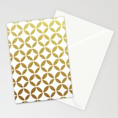 rings - gold Stationery Cards