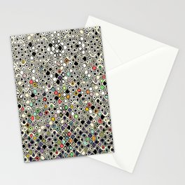 cellular ombre Stationery Cards