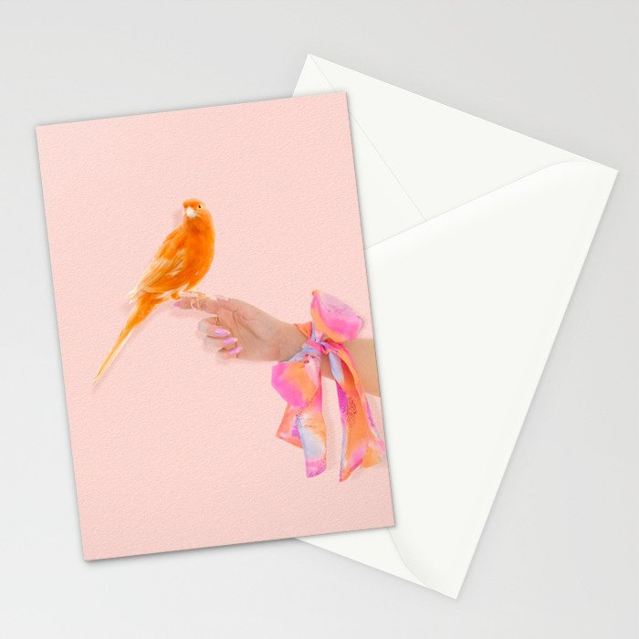 Pretty Bird Stationery Cards