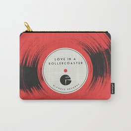 Love in a Rollercoaster Carry-All Pouch
