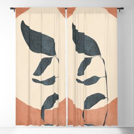 Summer Leaves Blackout Curtain