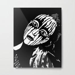 Circus Performer Metal Print