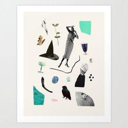 SCAVENGER HUNT Art Print