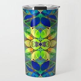 Floral Fractal Art G373 Travel Mug