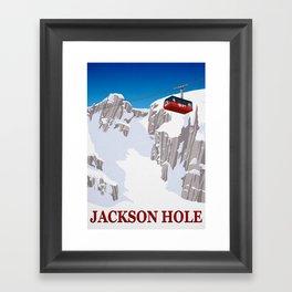 Jackson Hole Framed Art Print