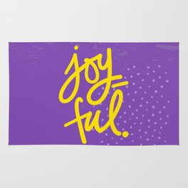 The Fuel of Joy Rug
