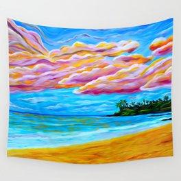 Pāʻia Bay Sunrise Wall Tapestry