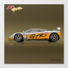1995 McLaren F1 GTR #01R Prototype #59 Canvas Print