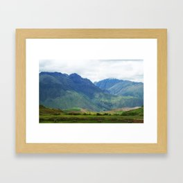 La Vista de Aquí Framed Art Print