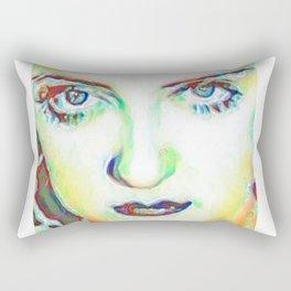 She's got Bette Davis Eyes Rectangular Pillow