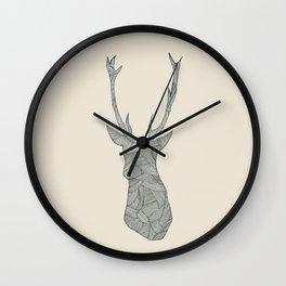 Deer. Wall Clock