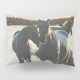 Camargue Horses III ... Pillow Sham