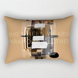 """Filthy Lesson"" Graphic Art Print Rectangular Pillow"
