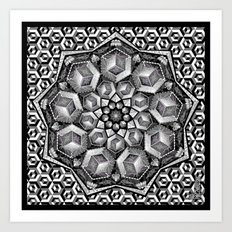 Isometric aspirations Art Print