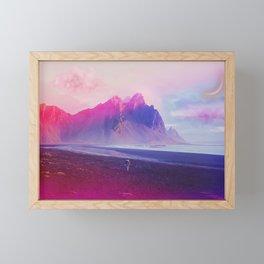 Beach Walk Framed Mini Art Print