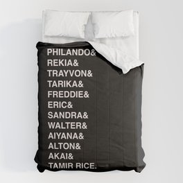 Say Their Names-Black Lives Matter Art Comforters