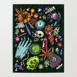Halloweed Altar Poster