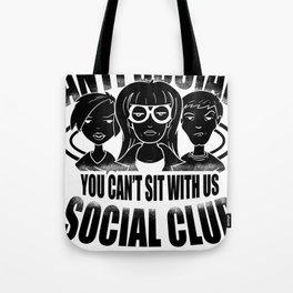 Anti Social Club Mobbing loner gift Tote Bag