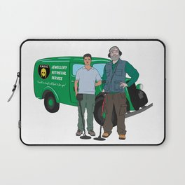 Russell & Hugh Jewellery Retrieval Service - DMDC - Detectorists Laptop Sleeve