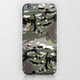 Camo Camo, and the art of disappearing. iPhone Case
