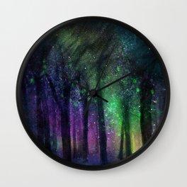 Magic Night Sky Wall Clock