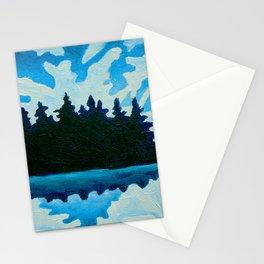 Blue Totem No.2 Stationery Cards