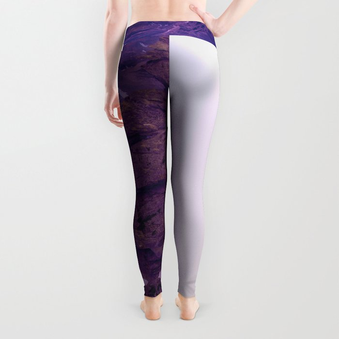 Mountains of Violet Leggings