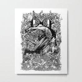 Terpsichore Metal Print