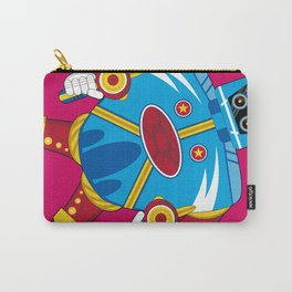 Cool Retro Raygun Robot Carry-All Pouch