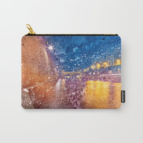 Acrylic Lights of Paris Carry-All Pouch