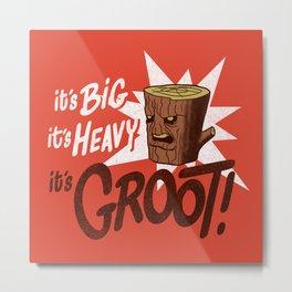 It's Groot Metal Print