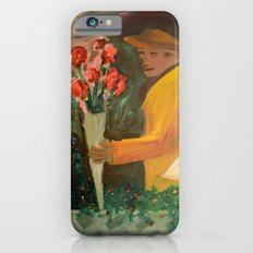 Man with flowers  Slim Case iPhone 6s