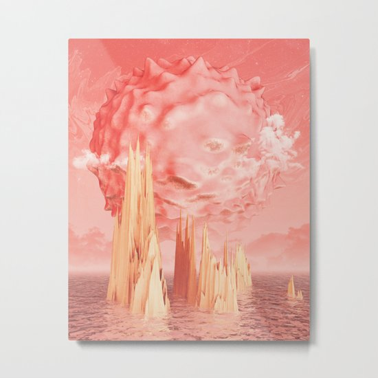 Exoplanet Metal Print