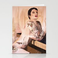 tatoo Stationery Cards featuring Tatoo by aurora villaviejas