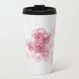 Unknown: abstract-bubbles Travel Mug