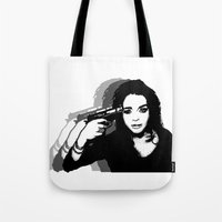lindsay lohan Tote Bags featuring Lindsay Lohan. by 161926