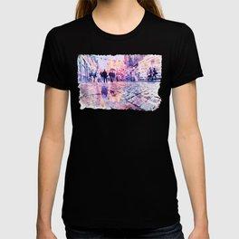 Dublin Watercolor Streetscape T-shirt