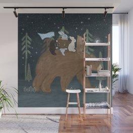 the moon bear Wall Mural